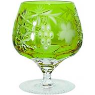 Бокал для коньяка Ajka Crystal Grape, 300мл, светло-зеленый - арт.1/reseda/64574/51380/48359, фото 1