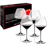 Набор бокалов для красного вина Pinot Noir Riedel Heart to Heart, 770мл - 4шт - арт.5409/07, фото 1