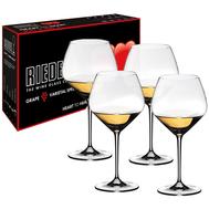Бокалы для белого вина Chardonnay Riedel Heart To Heart, 670мл - 4шт - арт.5409/97, фото 1