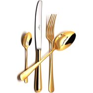 Столовые приборы Cutipol Alcantara gold, 6 персон 24 предмета - арт.9291, фото 1