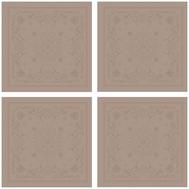 Набор тканевых салфеток Garnier-Thiebaut Eloise Macaron - 4шт, 54х54 см - арт.GT1406, фото 1