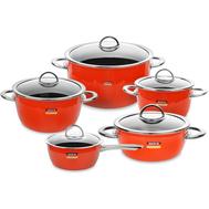 Набор кастрюль Kochstar Neo Ultra Premium оранжевый, 5 предметов - арт.ORANGE-3, фото 1