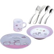 Набор детской посуды Sambonet Pink - 7 предметов - арт.SMB1303, фото 1