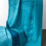 Плед шерстяной Trussardi Art Cobalt, 130х190см - арт.TR1101, фото 1