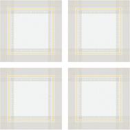 Набор тканевых салфеток Garnier-Thiebaut Galerie de Glasses - 6 шт, 54х54 см (без пропитки) - арт.GT1605, фото 1
