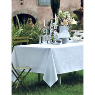 Салфетки и скатерть круглая 175 см Garnier-Thiebaut Mille Rubans Blanc - арт.GT2307, фото 1
