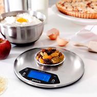 Весы кухонные Brabantia, серебристые, 20 см - арт.480560, фото 1