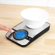 Весы кухонные Brabantia, серебристые, 21 см - арт.480607, фото 1
