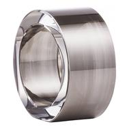Кольцо для салфеток Platin Eisch Ravi, прозрачное/платина, 5 см - арт.75890550, фото 1