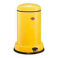 Ведро для мусора с педалью Wesco Baseboy, желтое, 15 л - арт.135331-19, фото 1