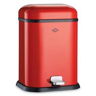 Ведро для мусора с педалью Wesco Single Boy, красное, 13 л - арт.132212-02, фото 1