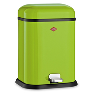 Ведро для мусора с педалью Wesco Single Boy, зеленый лайм, 13 л - арт.132212-20, фото 1