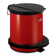 Ведро для мусора с педалью Wesco Pedal Bin, красное, 5 л - арт.101012-02, фото 1