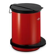 Ведро для мусора с педалью Wesco Pedal Bin, красное, 13 л - арт.111212-02, фото 1