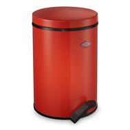 Ведро для мусора с педалью Wesco Pedal Bin, красное, 13 л - арт.116212-02, фото 1