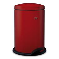 Ведро для мусора с педалью Wesco Pedal Bin, красное, 13 л - арт.117212-02, фото 1