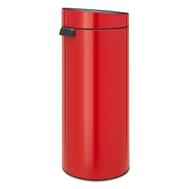 Контейнер для мусора Brabantia Touch Bin, красный, 30 л - арт.115189, фото 1