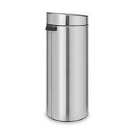 Контейнер для мусора Brabantia Touch Bin, стальной матовый, 30 л - арт.115349, фото 1