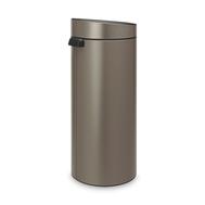 Контейнер для мусора Brabantia Touch Bin, платина, 30 л - арт.115363, фото 1
