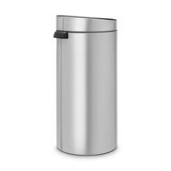 Контейнер для мусора Brabantia Touch Bin, серый металлик, 30 л - арт.115387, фото 1