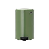 Контейнер для мусора с педалью Brabantia Newicon, зеленый, 20 л - арт.113925, фото 1