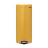 Контейнер для мусора с педалью Brabantia Newicon, горчичный, 30 л - арт.116148, фото 1