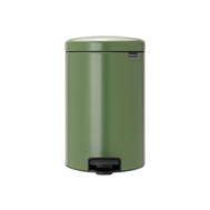 Контейнер для мусора с педалью Brabantia Newicon, зеленый, 3 л - арт.113024, фото 1