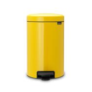 Контейнер для мусора с педалью Brabantia Newicon, желтый, 5 л - арт.112522, фото 1