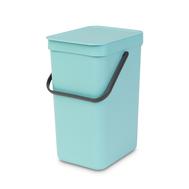 Встраиваемое мусорное ведро Brabantia Sort Go, мятное, 12 л - арт.109744, фото 1