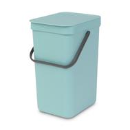 Встраиваемое мусорное ведро Brabantia Sort Go, мятное, 16 л - арт.109843, фото 1