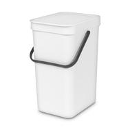 Встраиваемое мусорное ведро Brabantia Sort Go, белое, 16 л - арт.109942, фото 1