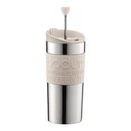 Кофейник с прессом Bodum Travel, дорожный, белый, 0,35 л - арт.11067-913, фото 1
