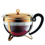 Пресс чайник Bodum Chambord, золото, 1.3л - арт.11656-17, фото 1
