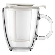 Кружка с ситечком Bodum Yo-Yo, белая, 0,35 л - арт.K11239-913, фото 1