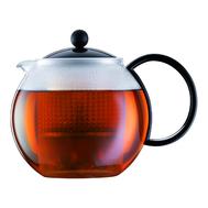 Пресс чайник Bodum Assam, черный, 1 л - арт.1844-01, фото 1