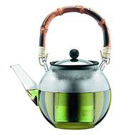 Пресс чайник Bodum Assam, с бамбуковой ручкой, прозрачный, 1 л - арт.11806-139, фото 1