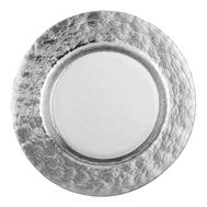 Тарелка обеденная Silver Eisch Colombo, прозрачная/серебро, 28 см - арт.45651528, фото 1