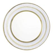 Тарелка обеденная Gold Eisch Sarim, прозрачная/золото, 25 см - арт.71951301, фото 1
