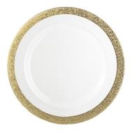 Тарелка сервировочная Eisch Gold Rush, прозрачная/золото, 35 см - арт.74351635, фото 1