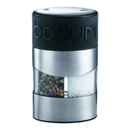 Мельница для специй Bodum Twin, черная, 11.2см - арт.11002-01, фото 1