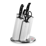 Набор кухонных ножей Wesco Asia Knife Style, 5 предметов, в белой подставке - арт.322631-01, фото 1