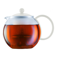 Пресс чайник Bodum Assam, белый, 1 л - арт.1844-913, фото 1