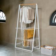 Вешалка для одежды напольная Brabantia Linn, белая, 190х99х57 см - арт.118265, фото 1
