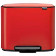 Контейнер для мусора с педалью Brabantia Bo Pedal Bin, красный, 36 л - арт.121401, фото 1