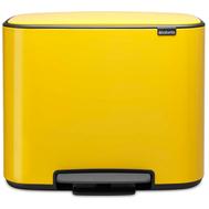 Контейнер для мусора с педалью Brabantia Bo Pedal Bin, желтый, 36 л - арт.121425, фото 1