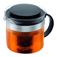 Чайник заварочный Bodum Bistro Nouveau, с ситечком, черный, 1 л - арт.1875-01, фото 1