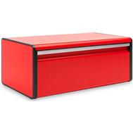 Хлебница с откидной крышкой Brabantia, красная, 46.5 см - арт.484025, фото 1