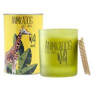 Ароматная свеча Ambientair Giraffe - водная лилия Wild, 40 ч - арт.VV040WLAW, фото 1