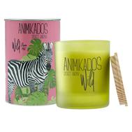 Ароматическая свеча Ambientair Zebra - цветочный Wild, 40 ч - арт.VV040FOAW, фото 1