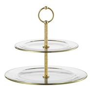Этажерка для фруктов Eisch 10 Carat, прозрачная/золото, 32 см - арт.50251612, фото 1